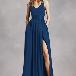 NWT Vera Wang navy blue dress